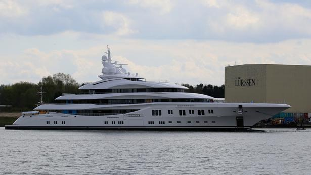 Orchid superyacht launched april 2015