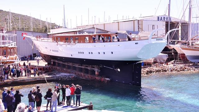 _Zanziba_ – the biggest sailing yacht launched in June 2015