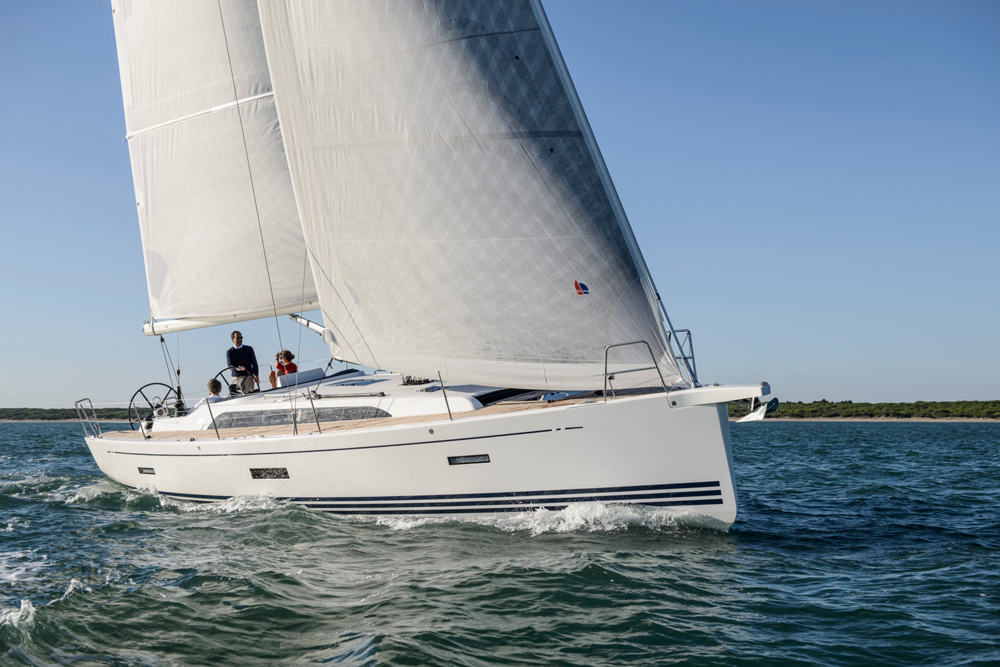 I don't usually get distracted so easily but the fun of sailing this very modern. good-looking speedster called the X4 got to me.