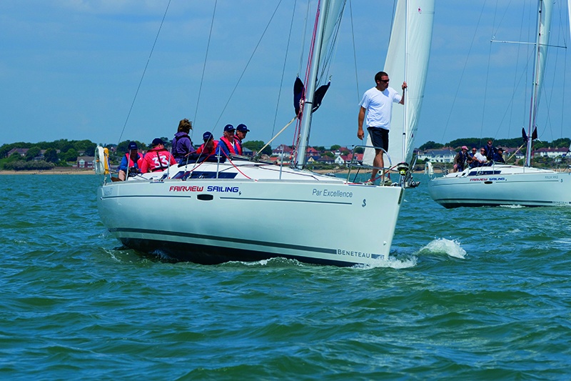 Win a day of sailing on the Solent with Fairview Sailing