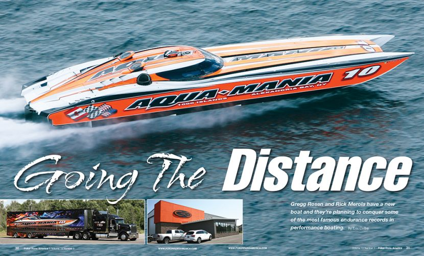 Aqua-Mania G3 Race boat  produce a 2017-18 swimsuit calendar with proceeds to support colon cancer